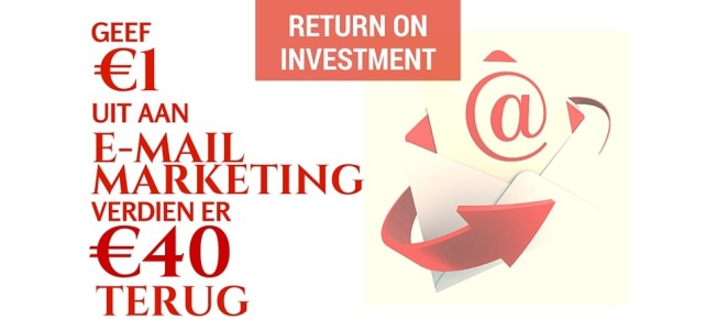E-mail marketing, een rendement van 4300% !